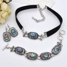 Fashionable Exotic Stylish Alloy Women's Jewelry Sets (Set of 3)