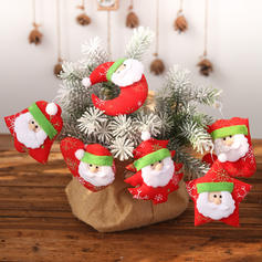 Merry Christmas Santa Hanging Cloth Tree Hanging Ornaments