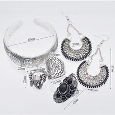 Unique Fashionable Exotic Alloy Women's Jewelry Sets (Set of 5)