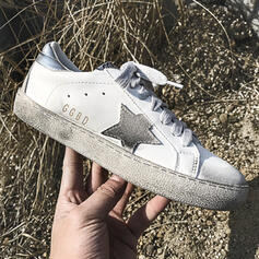 Femmes PU Décontractée De plein air Athlétique avec Dentelle chaussures