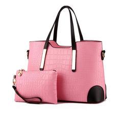Elegant PU Tote Bags/Bag Sets/Wallets & Wristlets