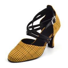 Women's Latin Sandals Satin Latin