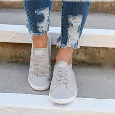 Women's Denim Casual With Lace-up shoes