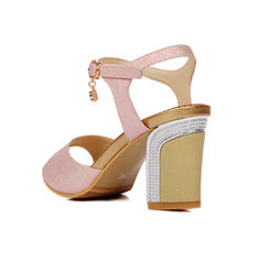 Női Műbőr Tűsarok Szandál Magassarkú cipő