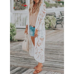 Solid Color Long Sleeve Strapless Sexy Fashionable Cover-ups Swimsuits