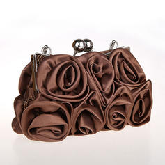 Elegant Silk Clutches/Wristlets/Bridal Purse/Fashion Handbags/Makeup Bags/Luxury Clutches