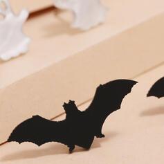 Vleermuis Gevormd Halloween Geest Acryl Oorbellen 4 STUKS