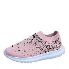 Women's Fabric Casual Outdoor Athletic Hiking With Beading shoes