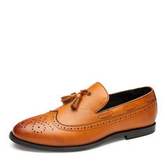 Tassel Loafer Casual Microfiber Leather Men's Men's Loafers