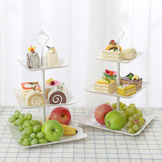 Solid Novelty PP Serving Dishes & Platters