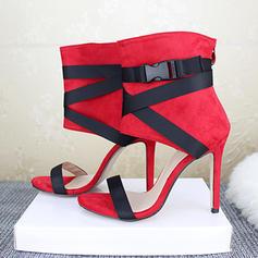Жіночі ПУ Шпилька Сандалі з Блискавка взуття