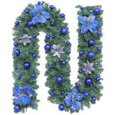 feliz Natal PVC Decoração de Natal Festão