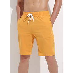 Menn Ensfarget Stort shorts Badedrakt