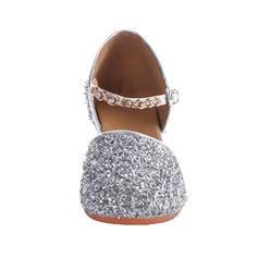 Kids' Ballroom Swing Heels Leatherette Sparkling Glitter Latin