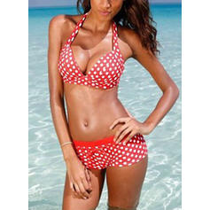 Dot Low Waist Halter Sexy Bikinis Swimsuits