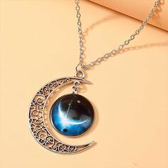 Fashionable Chic Alloy With Moon Women's Ladies' Necklaces