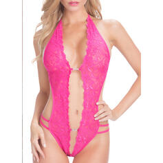 Nylon Chinlon Lace Teddy
