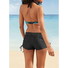 Print riimu Urheilu Vintage Bikinit Uima-Asut