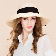 Ladies' Fashion Rattan Straw Straw Hat/Beach/Sun Hats