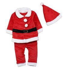 Christmas Merry Christmas Santa Cotton Christmas Ornements (Set of 4)