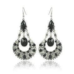 Charming Alloy Rhinestones Earrings