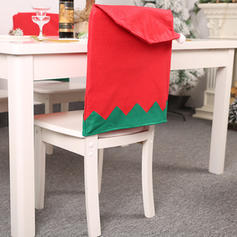 Merry Christmas Non-Woven Fabric Chair Foot Cover