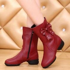 Women's Dance Boots Boots Leatherette Modern