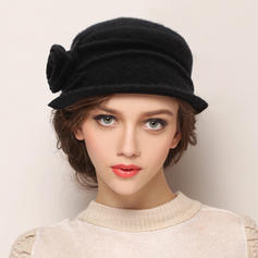 Ladies' Elegant Acrylic/Wool Blend Bowler/Cloche Hats
