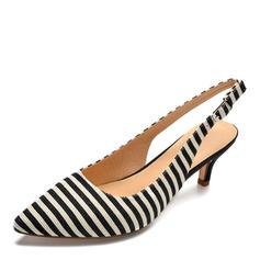 Femmes Tissu Talon stiletto Sandales Escarpins chaussures