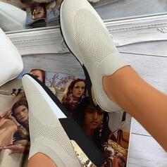 Női Repülő szövés Lapos sarok Lakások Tornacipő -Val Hálós ruha cipő