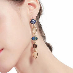 Fashionable Resin Women's Earrings