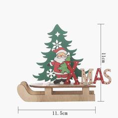 Snowman Reindeer Sleigh Santa Christmas Tabletop Wooden Christmas Décor Diy Craft