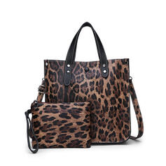 På mode/Leopard/Multifunktionel Crossbody Tasker/Bag Sets