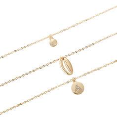 Stylish Alloy Rhinestones With Rhinestone Women's Fashion Necklace (Sold in a single piece)