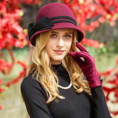 Dames Mode Coton avec Bowknot Chapeau melon / Chapeau cloche