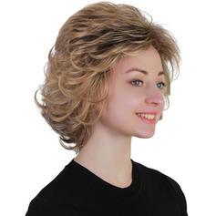 Kudrnatý Syntetické vlasy Syntetické paruky 140g