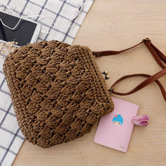 Braided Paper Rope Clutches/Crossbody Bags/Shoulder Bags/Beach Bags