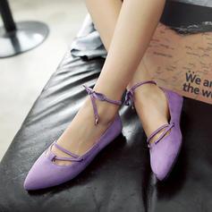 Kvinnor Mocka Flat Heel Platta Skor / Fritidsskor Plattform med Bandage skor