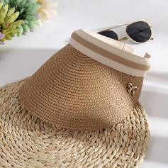 Dames Le plus chaud Paille salée Casquette de baseball/Chapeaux de plage / soleil