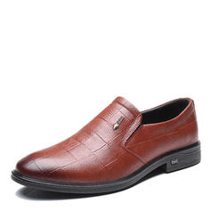 Hommes Modern Style Chaussures plates Vrai cuir Modern Style