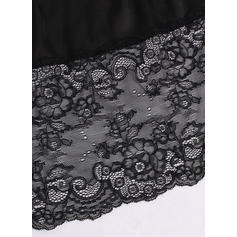 Polyester Lace Plain Slip