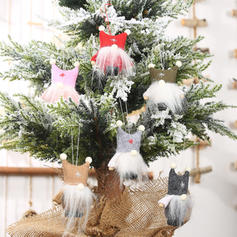 Table Gnome Christmas Hanging Plush Cloth Tree Hanging Ornaments Doll