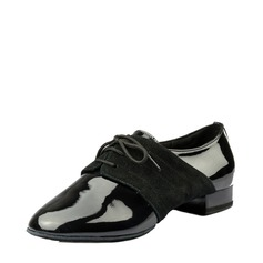 Men's Ballroom Real Leather Patent Leather Latin