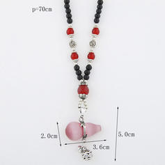Fashionable Stylish Alloy Resin Women's Necklaces