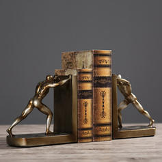 Traditional Resin Bookends