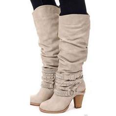 Bayanlar suni deri Tıknaz Topuk Pompalar bot ayakkabı Ile Ruffles ayakkabı