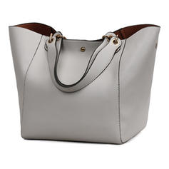 Charming/Refined PU Tote Bags/Shoulder Bags/Bucket Bags