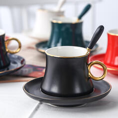 Alta qualidade Cerâmica Xícara de café com Pires