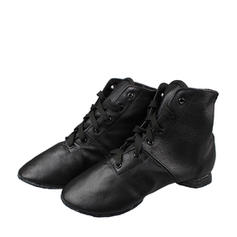 Unisex Leatherette Jazz Dance Shoes
