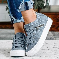 Unisex Canvas Casual Outdoor With Zipper shoes